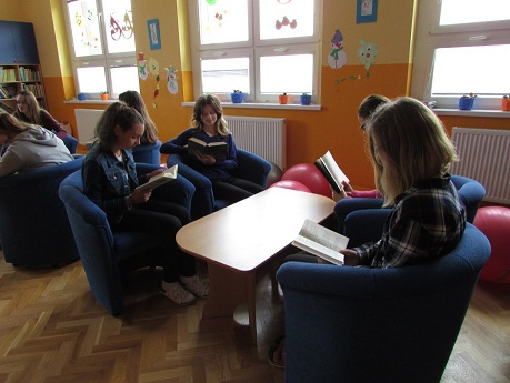 Projekt Let´s read together