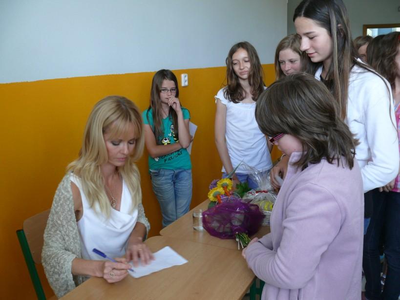 Škola je zapojená od roku 2001 do projektu infovek